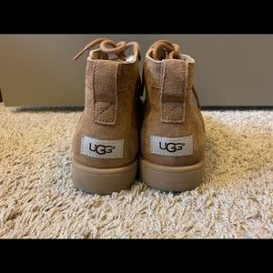 UGG mid-cut ankle boots with laces